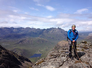 hillwalking outdoor instructor private guiding