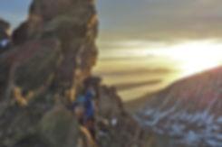 Lyngen Alps midnight sun