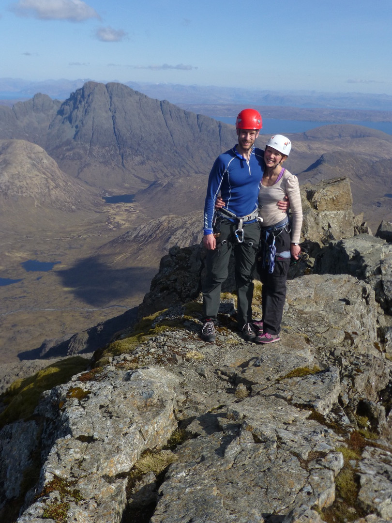 Climb Cuillin Ridge Isle of Skye Guide