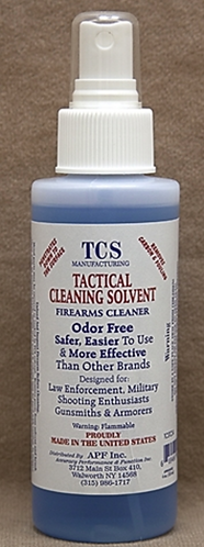 TACTICAL CLEANING SOLVENT - 8oz
