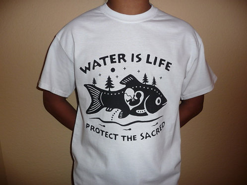 Water is Life: Protect the Sacred T-Shirt (unisex)
