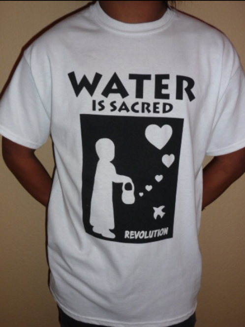 Water is Sacred: Revolution T-Shirt (unisex)