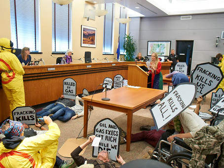 Press Statement on Die-In at the Boulder County Commissioners