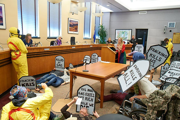 Press Statement On Die In At The Boulder County Commissioners East