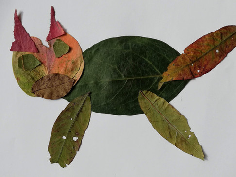 Likovi od požutjelih listova