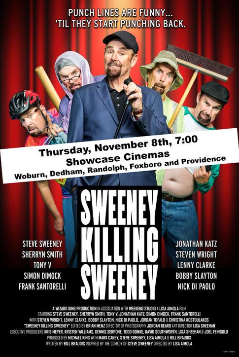 Sweeney Killing Sweeney Poster