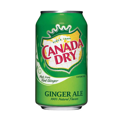 Canada Dry Ginger Ale, 12 oz, 24 ct