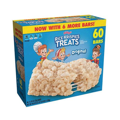 Kelloggs Rice Krispies Treats .78 oz, 60-count