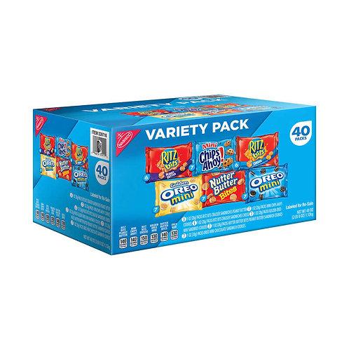 Nabisco, Variety Pack, 1 oz, 40 ct