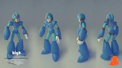 Megaman_turn around