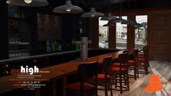 Interieur bar