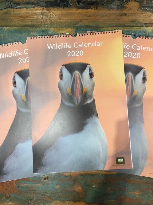 2020 - A3 Wildlife Calendar by Josh Jaggard