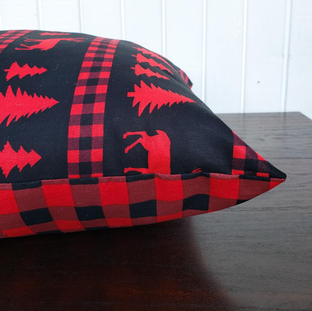 Reversisble Buffalo Plaid Pillow
