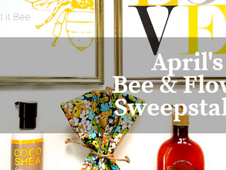 >>EXPIRED << April Sweepstakes - Bee & Flower Gift Set