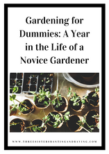 Gardening for Dummies: A Year in the Life of a Novice Gardener