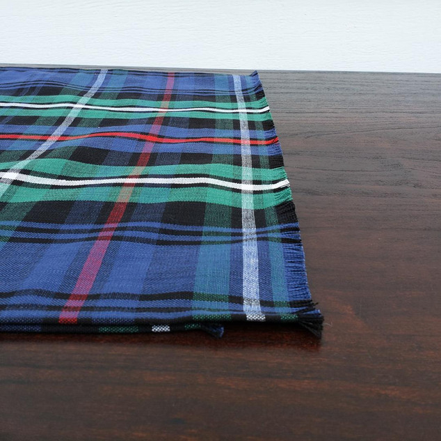 Plaid Christmas Table Runner