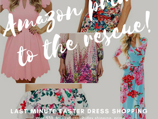 Last Minute Easter Dress Shopping – Amazon Prime to the Rescue!