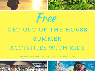 FREE Get-Out-Of-The-House Summer Activities with Kids