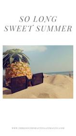 So Long Sweet Summer