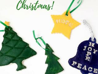 Let's Make Some Christmas Memories! Salt Dough Ornaments