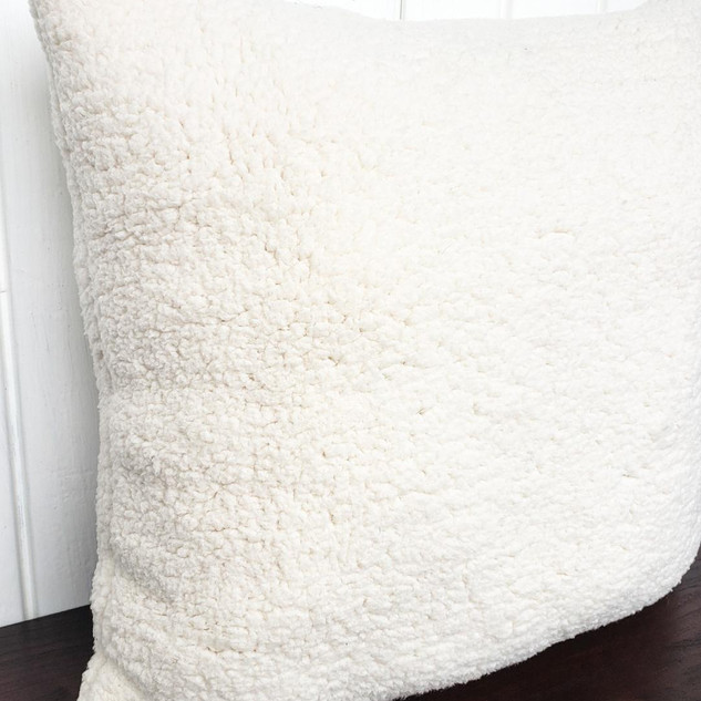 Faux Sherpa Pillow
