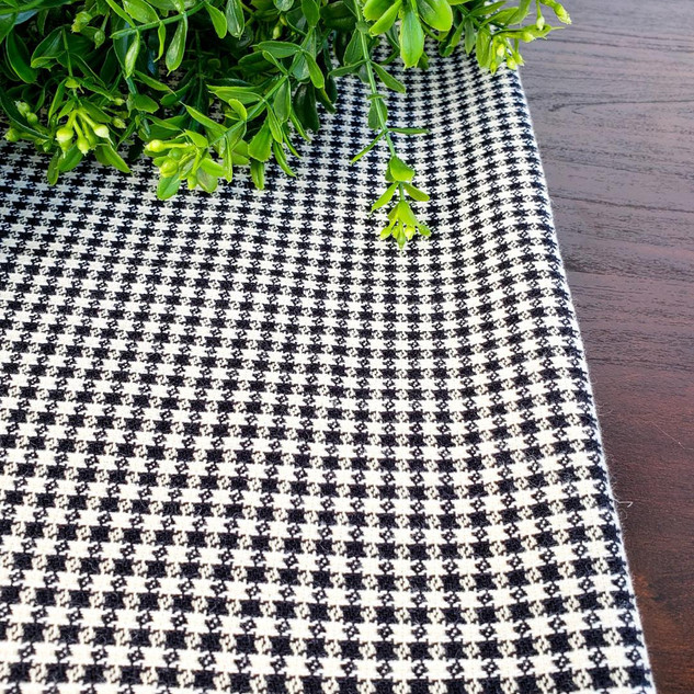 Houndstooth Table Runner