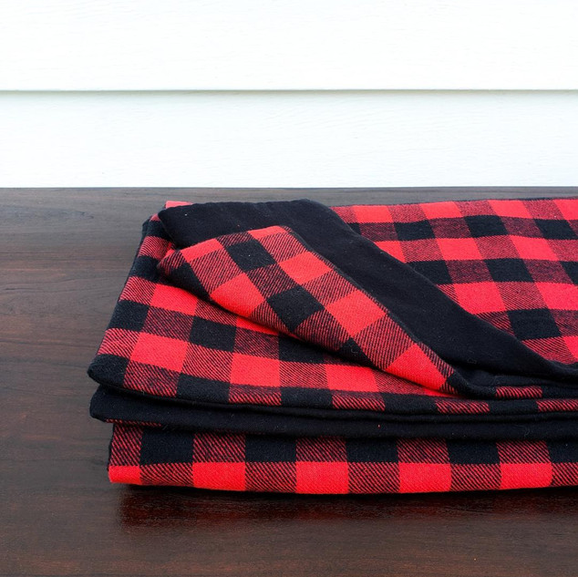 Buffalo Plaid Flannel Blanket