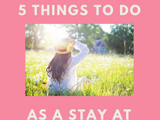 """Where can I contract a rare plague…"" 5 Things to Do When You're Overwhelmed As a Stay At"