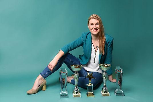Bianca Krentz Deutsche Meisterin 2018 2019 Wimpernverlängerung Wimpernlifting