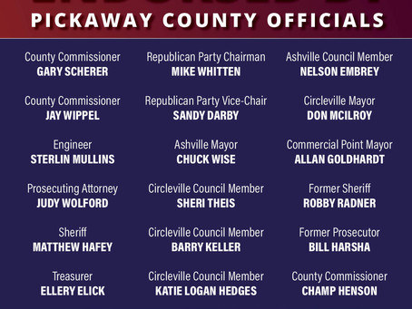 Pickaway County Leaders Endorse Peterson for Congress