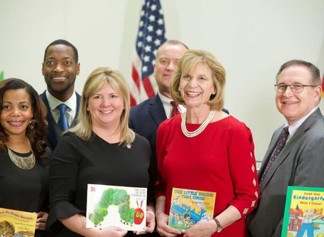 Kunze Joins Ohio First Lady Fran DeWine Launching the Franklin Co. Imagination Library