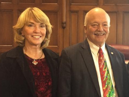 Madison County Leaders Bob and Sue Hackett Endorse Peterson for Congress
