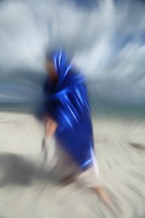 BlueLadyOnTheBeach I, 2020
