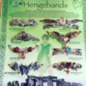 Hengebands, circlets, Anne Stoke, Briar