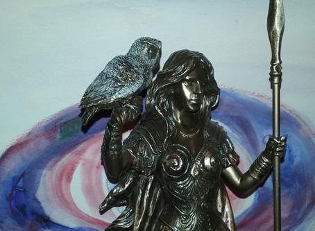 The Goddess Athena by Jenna