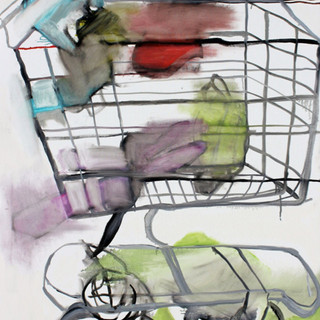 Shopping Cart by Liz Leggett