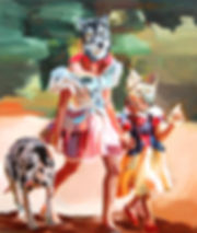 picass's_ancestors,_oil_on_canvas,_122x1