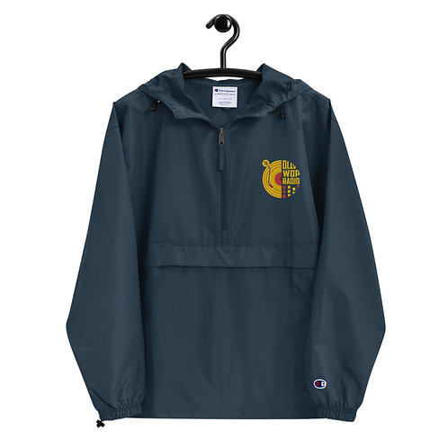 """""""Ollywop-Champion"""" Embroidered Weather Resistant Jacket (Navy)"""