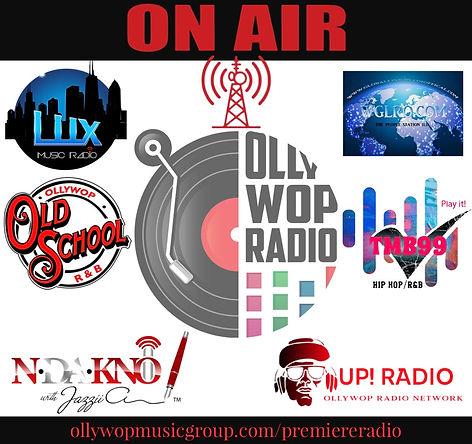 Ollywop Radio premiere radio stations