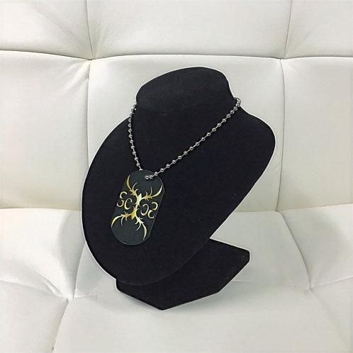 SexesByStephanie Custom Logo Dog Tag necklace