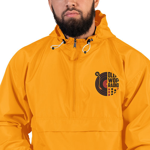 """""""Ollywop-Champion"""" Embroidered Weather Resistant Jacket (Gold)"""