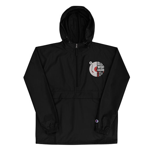 """""""Ollywop-Champion"""" Embroidered Weather Resistant Jacket (Black)"""
