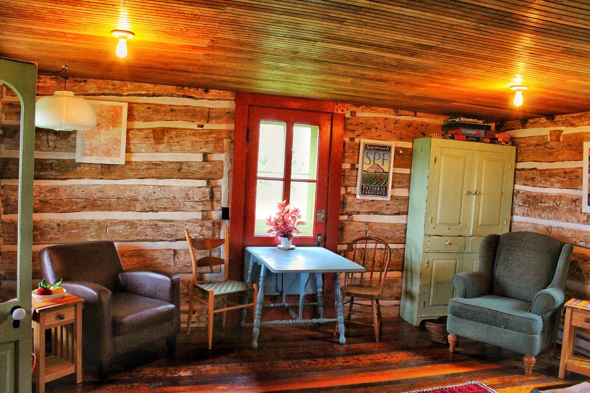 Trout River Log Cabin
