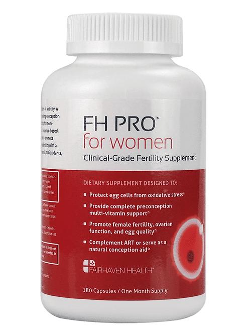 FH Pro for Women - Prenatal, 34+, Egg Quality, PCOS