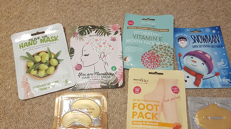 Beauty mask bundle only 1 available