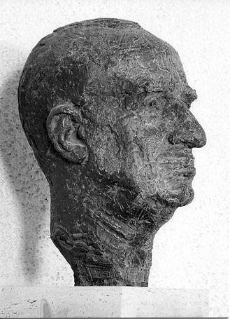 Beeldhouwer Pieter d'Hont