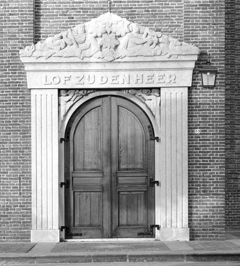 GP15a Portaalversiering Nederlands Hervormde Kerk