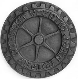 PE4 voorzijde Veertig jaren Rotary Utrecht