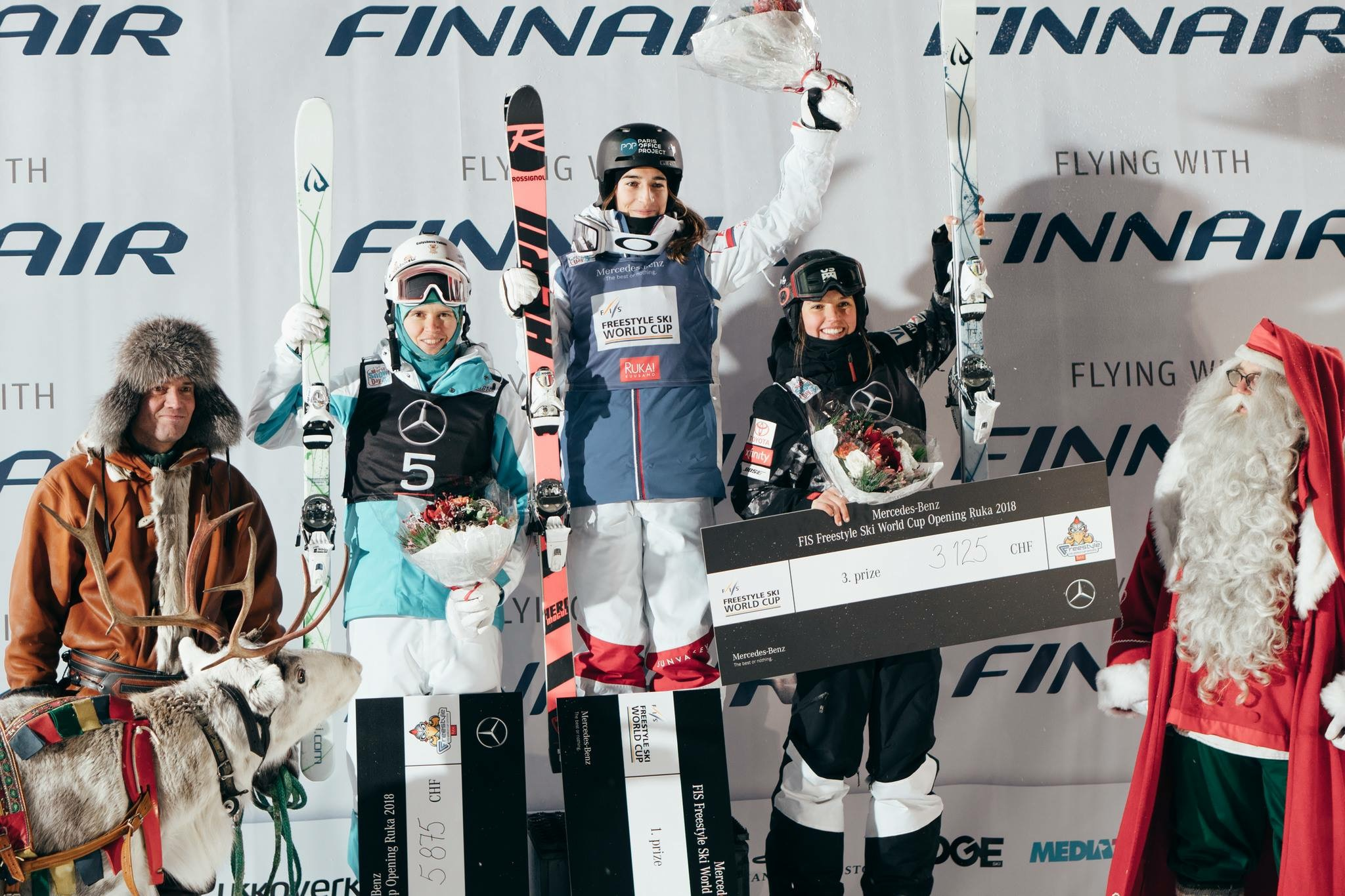 3rd Place in Ruka!