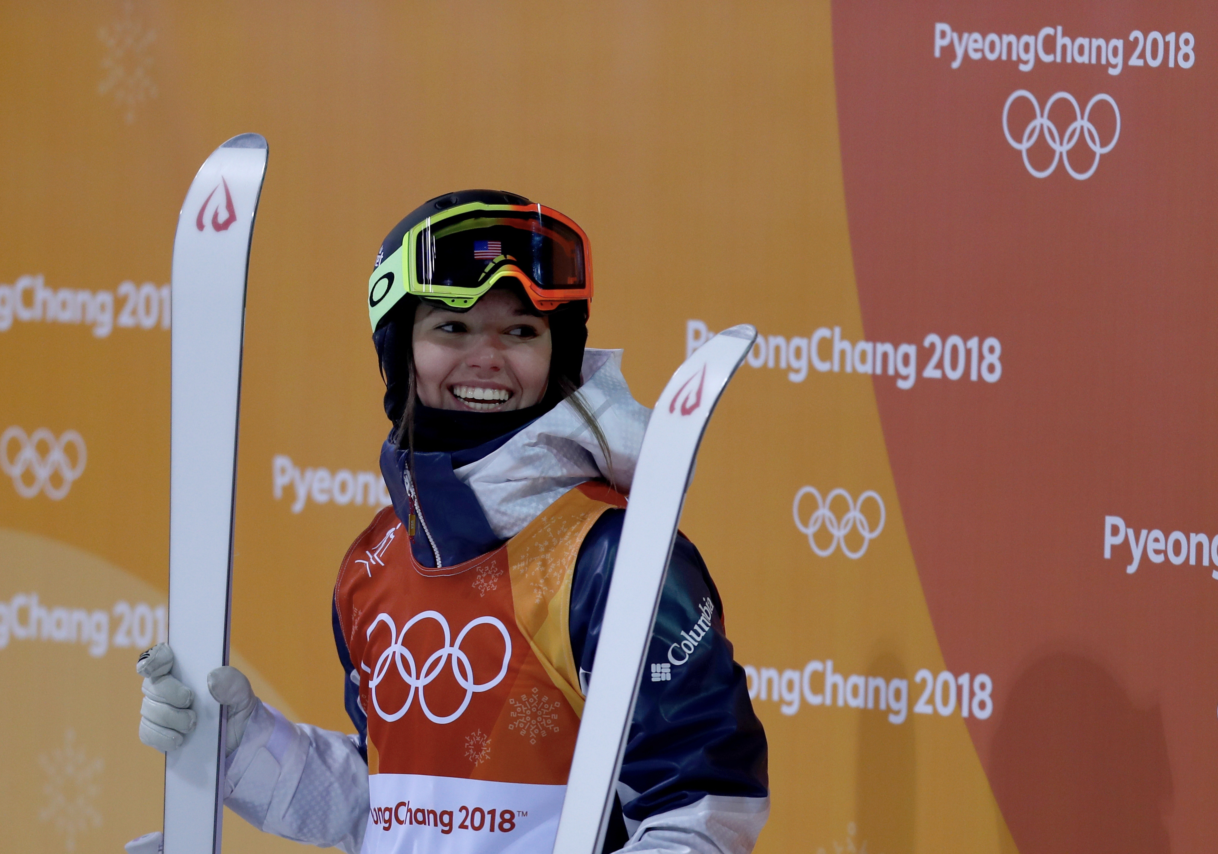 Tess Johnson 2018 Winter Olympics